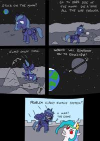 Princess Troll Luna