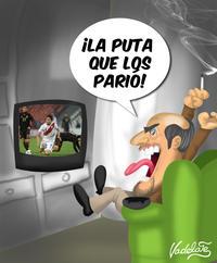 Angry Soccer Fan (Tano Pasman)