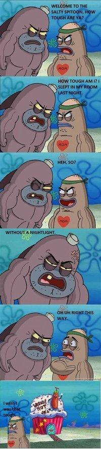 Welcome to the Salty Spitoon. How tough are ya?