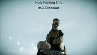 Holy Shit It's a Dinosaur!