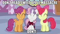 Sweet Apple Massacre (My Little Pony Fanfiction)