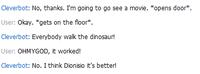 Everybody Walk the Dinosaur