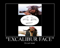 Excalibur Face