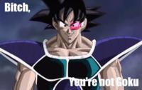 """""""Bitch I Look Like Goku"""""""