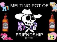 4chan Trolls Ghost / Melting Pot of Friendship
