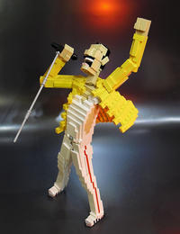 Freddie Mercury Rage Pose