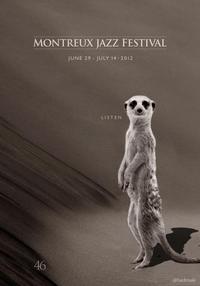 Le Monsieur Tout Nu (MJF - Montreux Jazz Festival Poster)