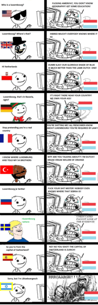 Nationality Stereotypes
