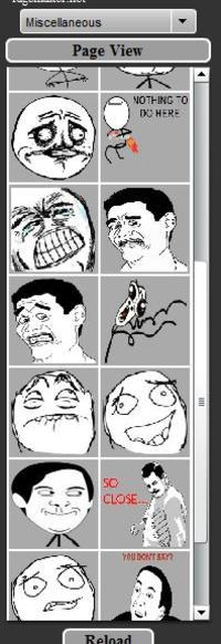 OMG RUN Guy / Tampon Head Rage Face