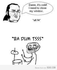 Rimshot Troll (Ba Dum Tss)