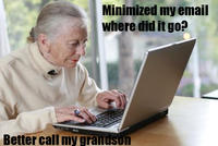 Grandma on the Computer