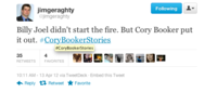 #CoryBookerStories