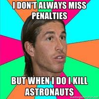 Sergio Ramos Penalty Kick FAIL