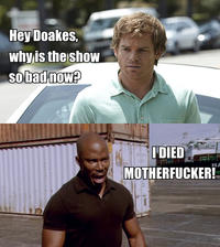 "James Doakes' ""Surprise Motherfucker"""