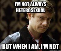 Defensively Heterosexual John Watson