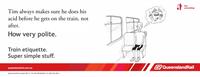 Queensland Rail Etiquette Posters