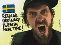 Regular Ordinary Swedish Meal Time