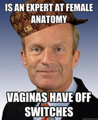 Todd Akin's Sexual Assault Gaffe