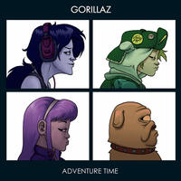"Gorillaz ""Demon Days"" Cover Art"