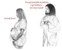Jesus is a Jerk