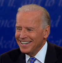 Laughing Joe Biden