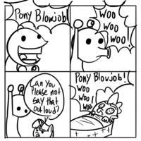 Ghost Blowjob! Woo-woo!