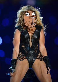 Unflattering Beyonce