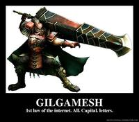 GILGAMESH (spelled with all caps)