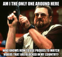 Am I the Only One Around Here
