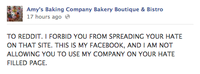 Amy's Baking Company PR Scandal