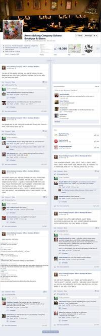 Amy's Baking Company PR Scandal