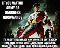 If You Watch X Backwards, It's About Y