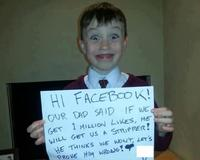 One Million Facebook Likes Pleas