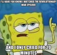 Tough Spongebob / I Only Cried For 20 Minutes