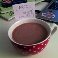 Hot Choclety Milk