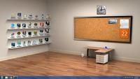 Bookshelf Desktop Wallpaper