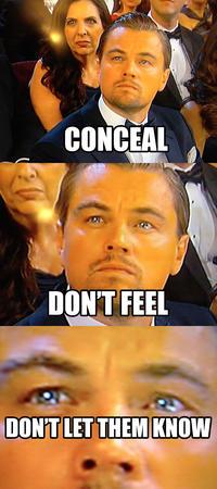 Leonardo DiCaprio Gets Snubbed By Oscar