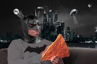 Dashing Black Man Holding Dangerously Large Dorito Chip