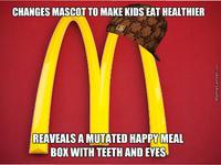 """McDonald's """"Happy"""" Mascot"""