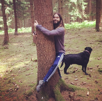 Jared Leto Hugging Things