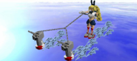 Waterskating Battleship Girls