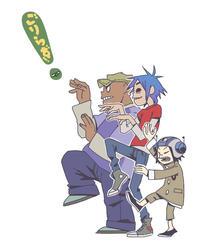 Yotsubato! Pose