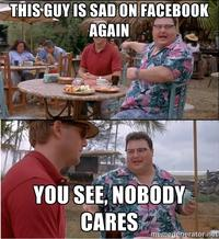 See? Nobody Cares
