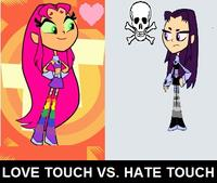Hate Touch (aka Grilled Cheese Girl)