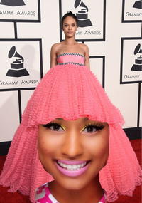 Rihanna's Grammy Dress