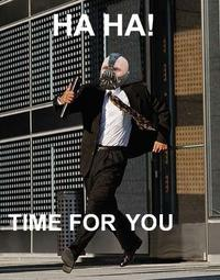 Ha ha! Time For X!