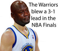 420 the warriors blew a 3 1 lead know your meme