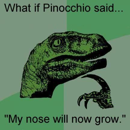 Pinocchio Parradox