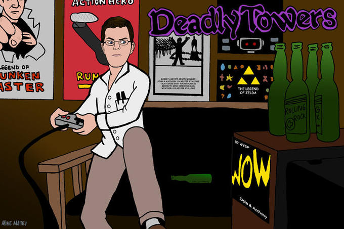 AVGN_Deadly_Towers_by_mikematei.jpg