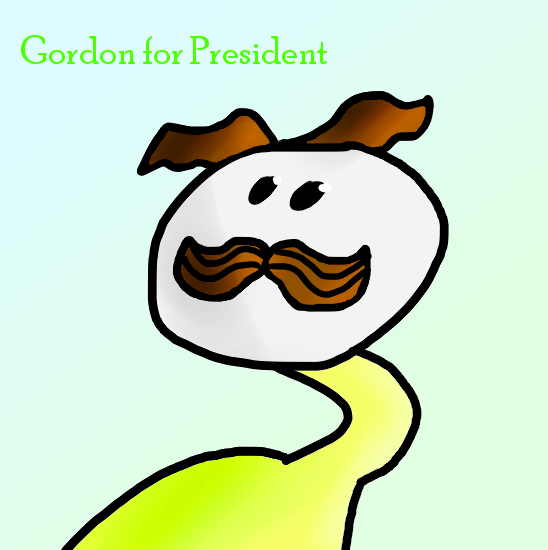 Gordon_for_President_by_PavlovParrot.png